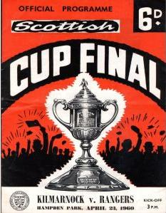 1960 SCOTTISH CUP FINAL - RANGERS v KILMARNOCK