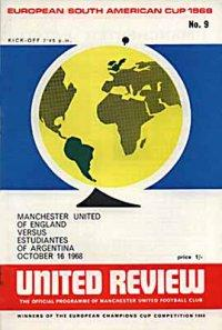 1968 WORLD CLUB CHAMPIONSHIPS - MAN UTD v ESTUDIANTES