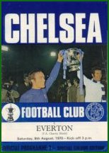 1970 CHARITY SHIELD - CHELSEA v EVERTON