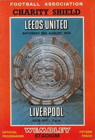 1974 CHARITY SHIELD - LEEDS UNITED v LIVERPOOL