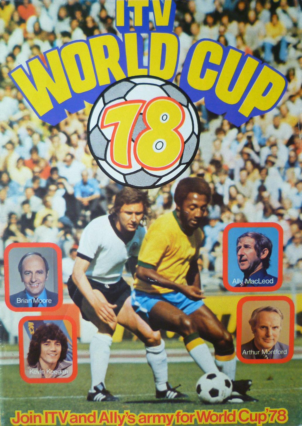 1978 WORLD CUP FINALS TOURNAMENT PROGRAMME (ITV UK EDITION)