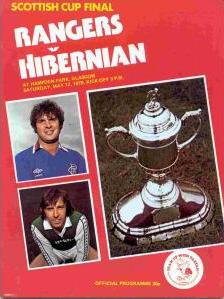 1979 SCOTTISH CUP FINAL - RANGERS v HIBERNIAN