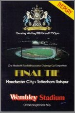 1981 FA CUP FINAL REPLAY - MAN CITY v TOTTENHAM