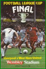 1981 LEAGUE CUP FINAL - LIVERPOOL v WEST HAM