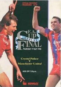 1990 FA CUP FINAL REPLAY - MAN UTD v CRYSTAL PAL