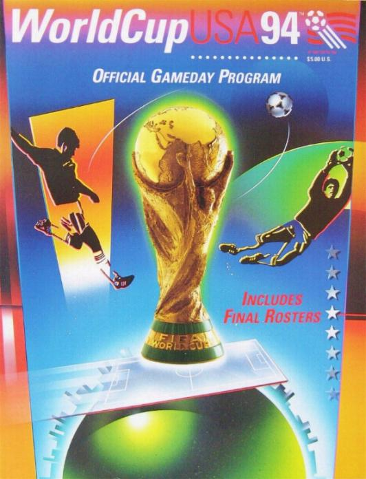 1994 WORLD CUP FINALS - OFFICIAL GROUP PHASE PROGRAMME