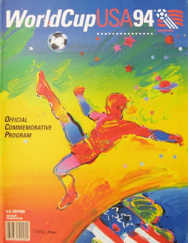 1994 WORLD CUP FINALS - OFFICIAL TOURNAMENT PROGRAMME