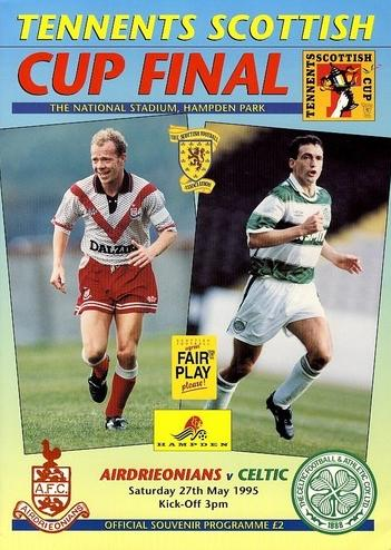 1995 SCOTTISH CUP FINAL - CELTIC v AIRDRIE