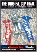 1995 FA CUP FINAL - EVERTON v MAN UTD