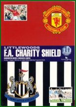 1996 CHARITY SHIELD - NEWCASTLE v MAN UTD