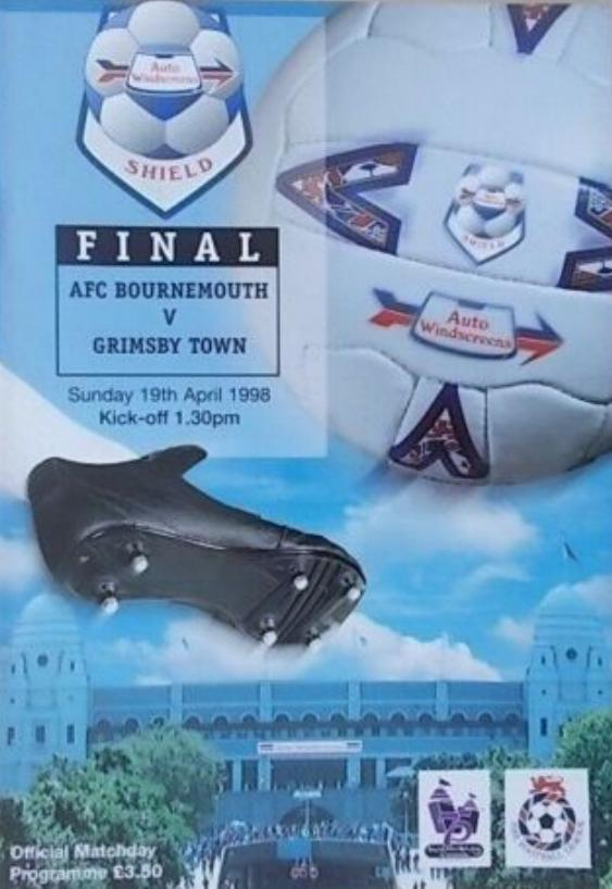 1998 AUTO WINDSCREENS SHIELD FINAL - BOURNEMOUTH v GRIMSBY TOWN