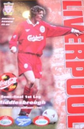 1998 LEAGUE CUP SEMI-FINAL - LIVERPOOL v MIDDLESBROUGH