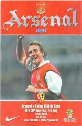 2000 UEFA CUP SEMI-FINAL - ARSENAL V RC LENS