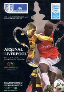 2001 FA CUP FINAL - LIVERPOOL v ARSENAL