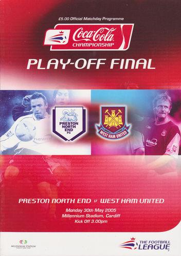 2005 CHAMPIONSHIP PLAY-OFF FINAL - WEST HAM v PRESTON