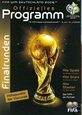 2006 WORLD CUP FINALS KNOCKOUT STAGES (GERMAN LANGUAGE)