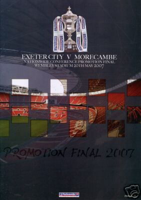 2007 CONFERENCE PLAY-OFF FINAL - MORECAMBE v EXETER CITY