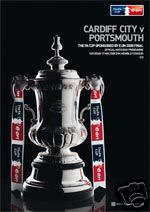 2008 FA CUP FINAL - PORTSMOUTH v CARDIFF CITY