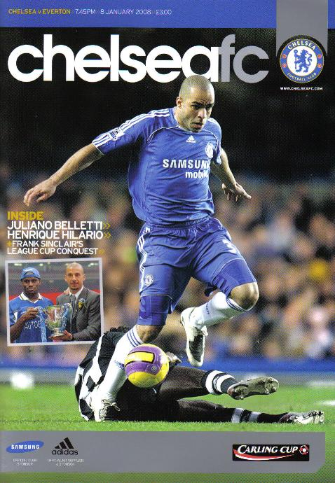 2008 CARLING CUP SEMI-FINAL - CHELSEA v EVERTON