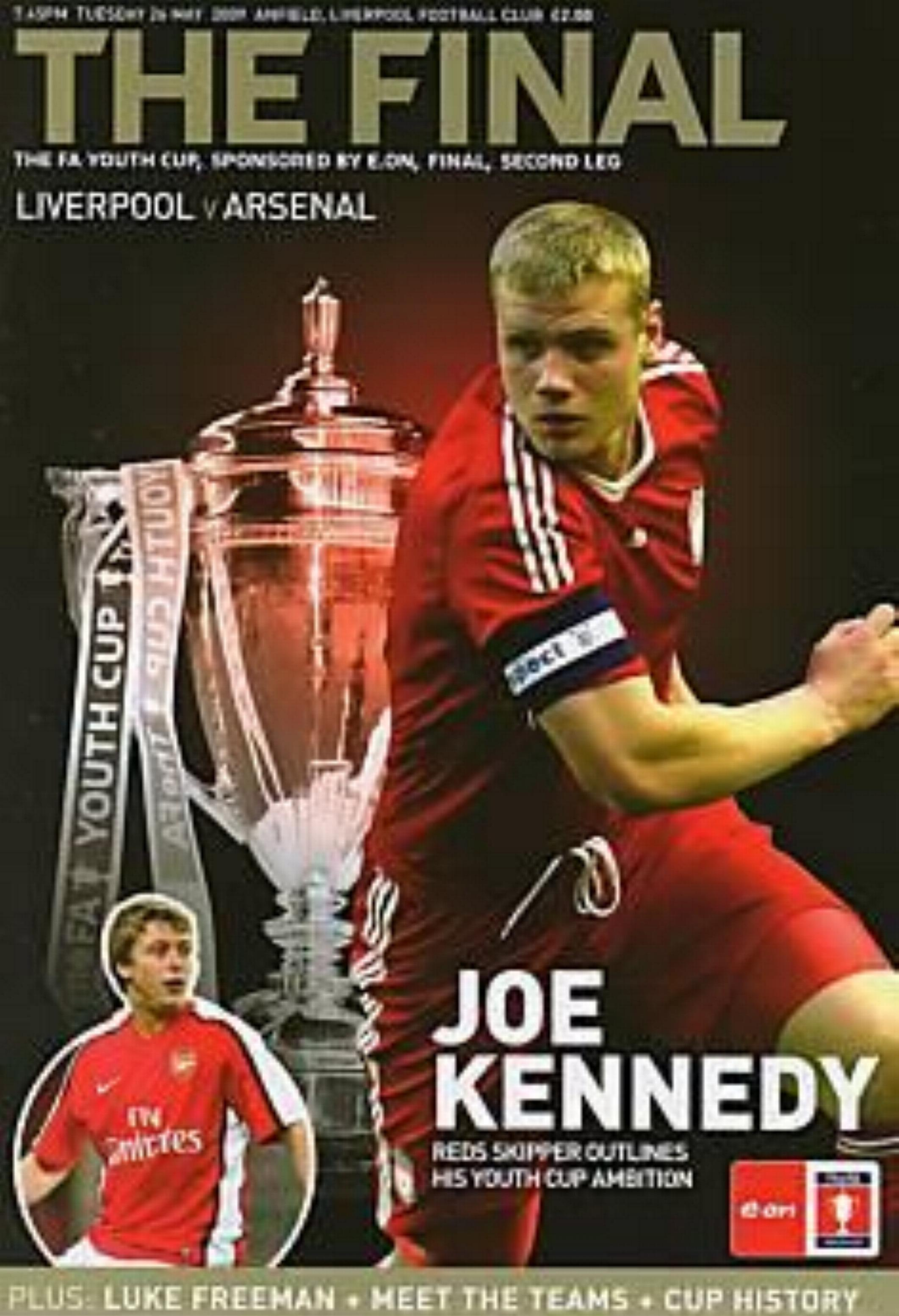 2009 FA YOUTH CUP FINAL (2nd LEG) - LIVERPOOL v ARSENAL
