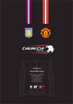 2010 CARLING CUP FINAL - ASTON VILLA v MAN UTD