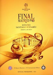 2010 CHAMPIONS LEAGUE FINAL - BAYERN MUNICH v INTER MILAN