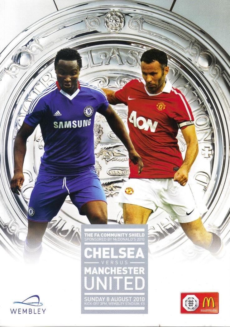 2010 COMMUNITY SHIELD - CHELSEA v MAN UTD