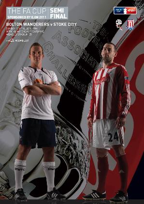 2011 FA CUP SEMI-FINAL - BOLTON v STOKE CITY