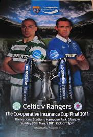 2011 SCOTTISH CIS CUP FINAL - CELTIC v RANGERS