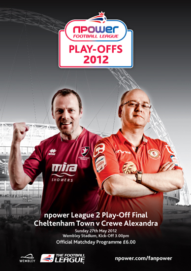 2012 LEAGUE TWO PLAY-OFF FINAL - CREWE v CHELTENHAM TOWN