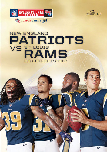 2012 - NFL AT WEMBLEY- NEW ENGLAND PATRIOTS v ST LOUIS RAMS