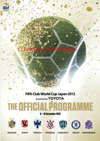 2012 FIFA CLUB WORLD CUP OFFICIAL TOURNAMENT PROGRAMME (CHELSEA)