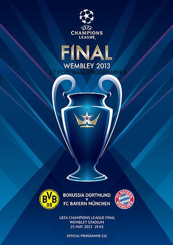 2013 CHAMPIONS LEAGUE FINAL - BAYERN MUNICH v BORUSSIA DORTMUND