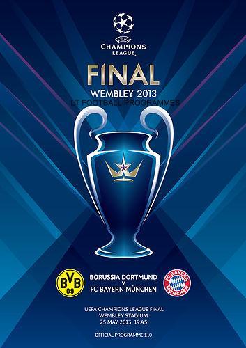 Champions league european cup lt football programmes