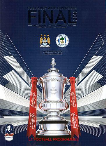 2013 FA CUP FINAL - MANCHESTER CITY v WIGAN ATHLETIC