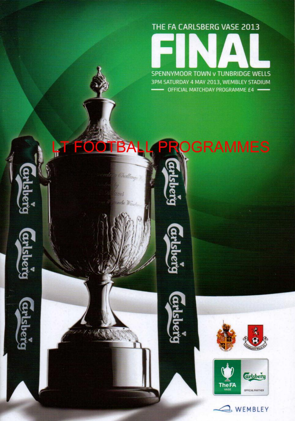 Fa vase final lt football programmes 2013 fa vase final spennymoor town v tunbridge wells reviewsmspy