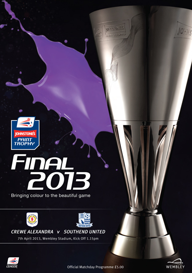2013 JP TROPHY FINAL - CREWE ALEXANDRA v SOUTHEND UNITED