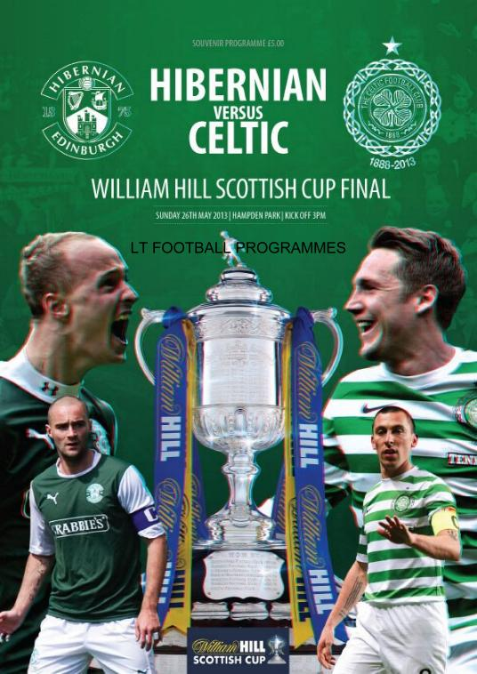 2013 SCOTTISH CUP FINAL - CELTIC v HIBERNIAN