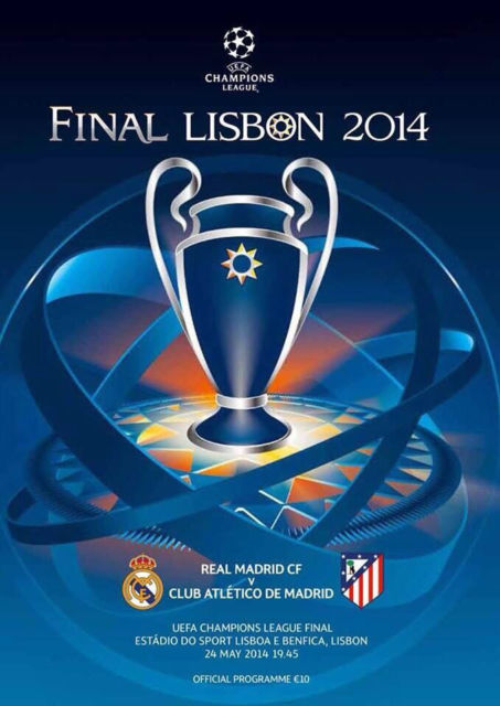 2014 CHAMPIONS LEAGUE FINAL - REAL MADRID v ATLETICO MADRID