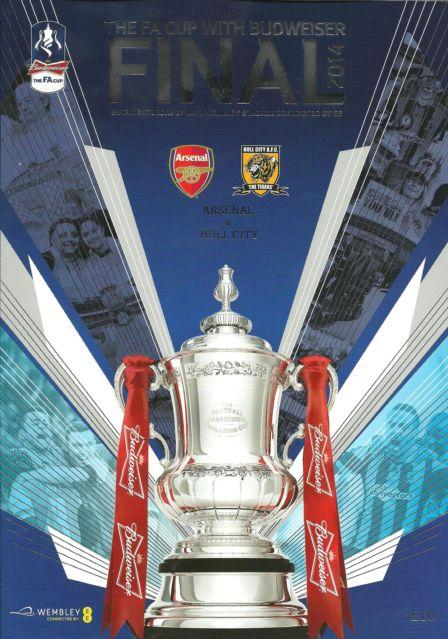 2014 FA CUP FINAL - ARSENAL v HULL CITY