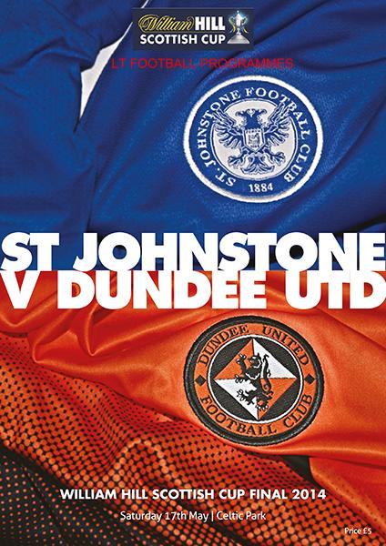 2014 SCOTTISH CUP FINAL - DUNDEE UTD v ST JOHNSTONE