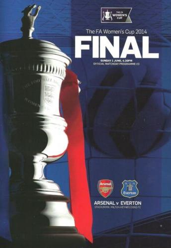 2014 WOMENS FA CUP FINAL - ARSENAL v EVERTON
