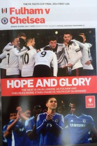 2014 FA YOUTH CUP FINAL - FULHAM v CHELSEA (1st Leg)