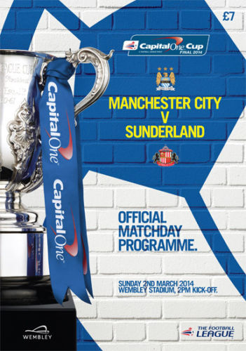 2014 CAPITAL ONE CUP FINAL - MAN CITY v SUNDERLAND