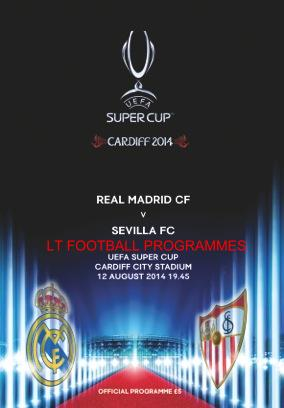 2014 SUPER CUP - REAL MADRID v SEVILLA