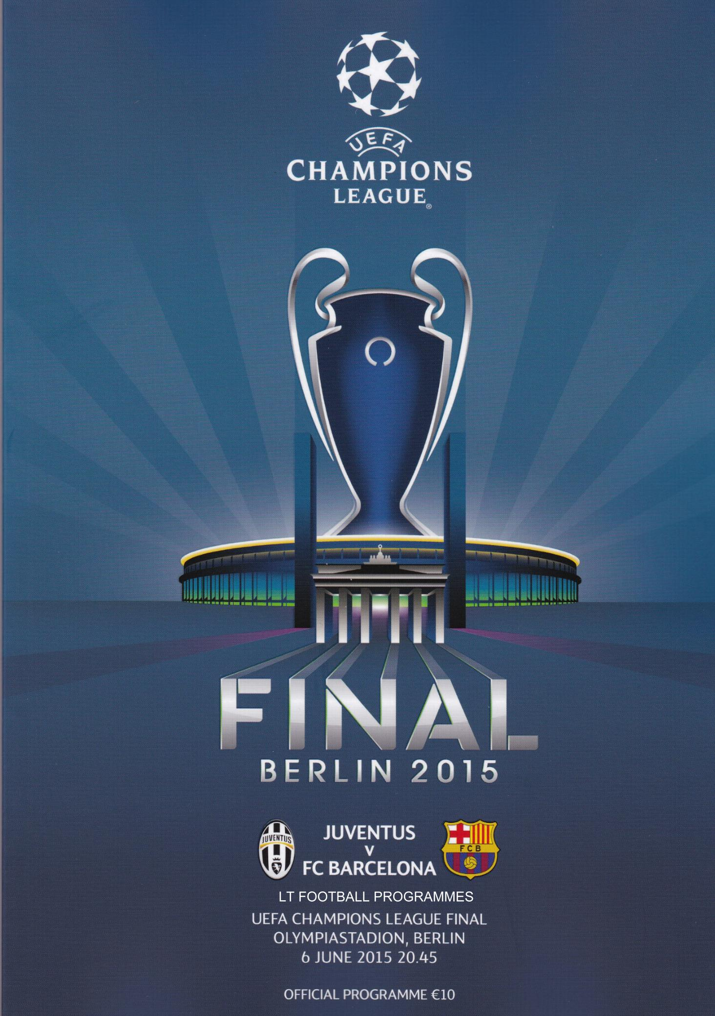 2015 CHAMPIONS LEAGUE FINAL - BARCELONA v JUVENTUS