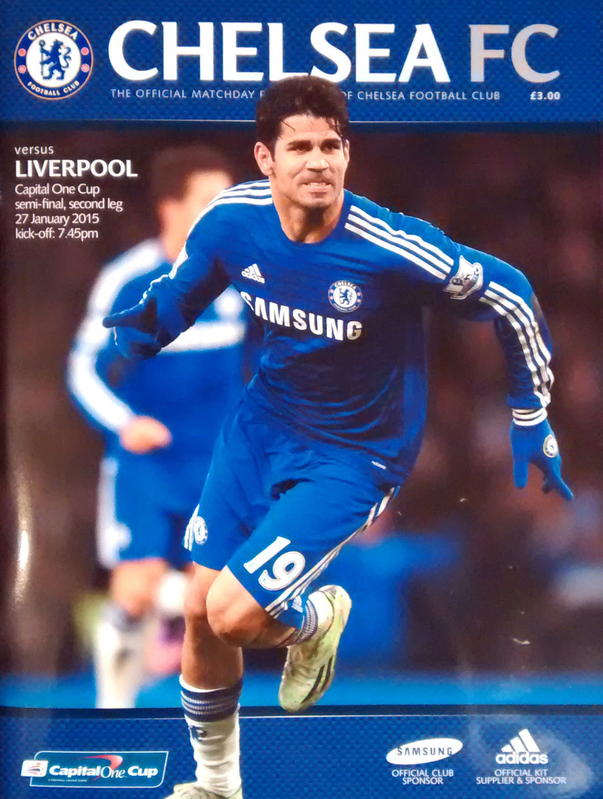 2015 CAPITAL ONE CUP SEMI-FINAL - CHELSEA v LIVERPOOL