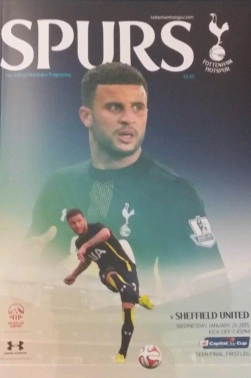 2015 CAPITAL ONE CUP SEMI-FINAL - TOTTENHAM v SHEFFIELD UNITED