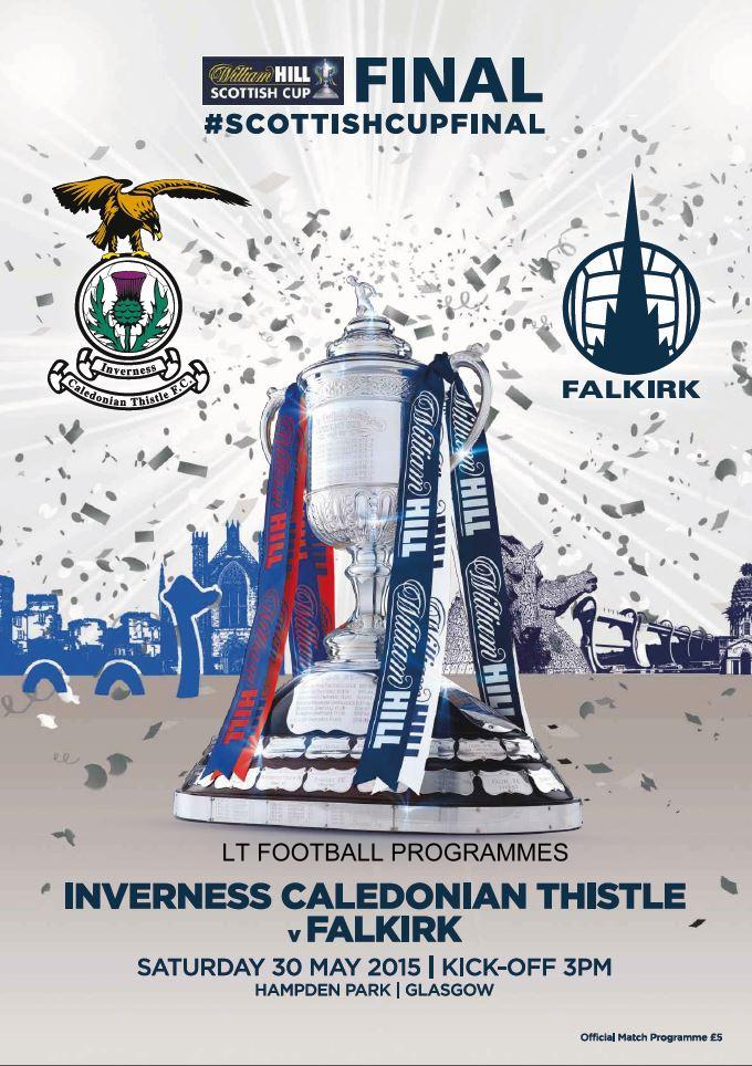 2015 SCOTTISH CUP FINAL - FALKIRK v INVERNESS CALEDONIAN THISTLE