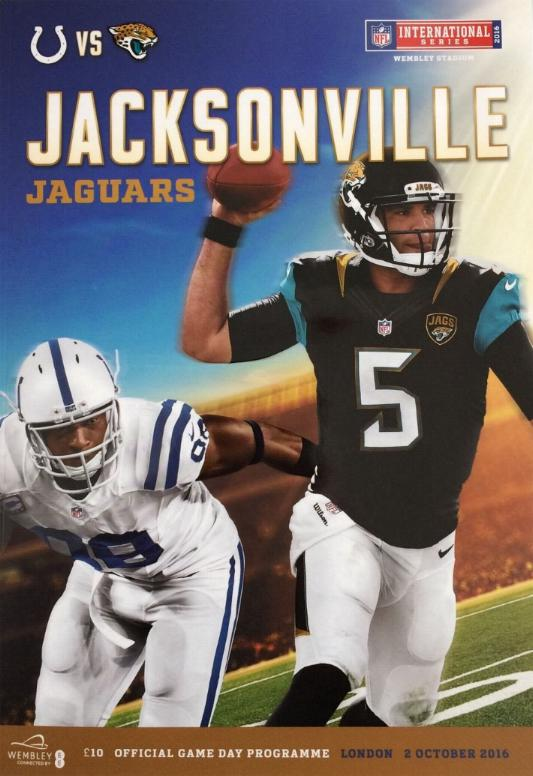 2016 NFL AT WEMBLEY - JACKSONVILLE JAGUARS v INDIANAPOLIS COLTS